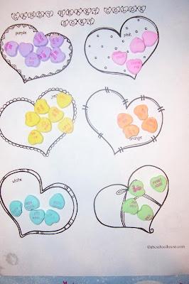 angels of heart preschool valentine math. Black Bedroom Furniture Sets. Home Design Ideas