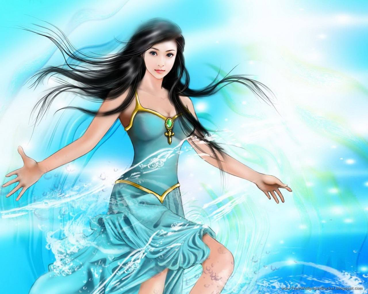 wallpaper mouth: 10 most beautiful fantasy girls wallpapers gallery 03