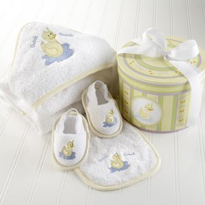 Bon Bebe Z920 Bath 4 Piece Gift Set