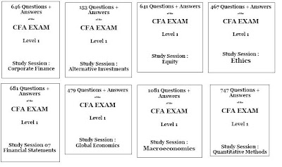 CFA Collections: CFA Level 1 Exam Question and Answer, Mock Exam ...
