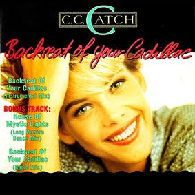 Cover Album of C.C. Catch - Backseat Of Your Cadillac (Maxi-CD-1988)
