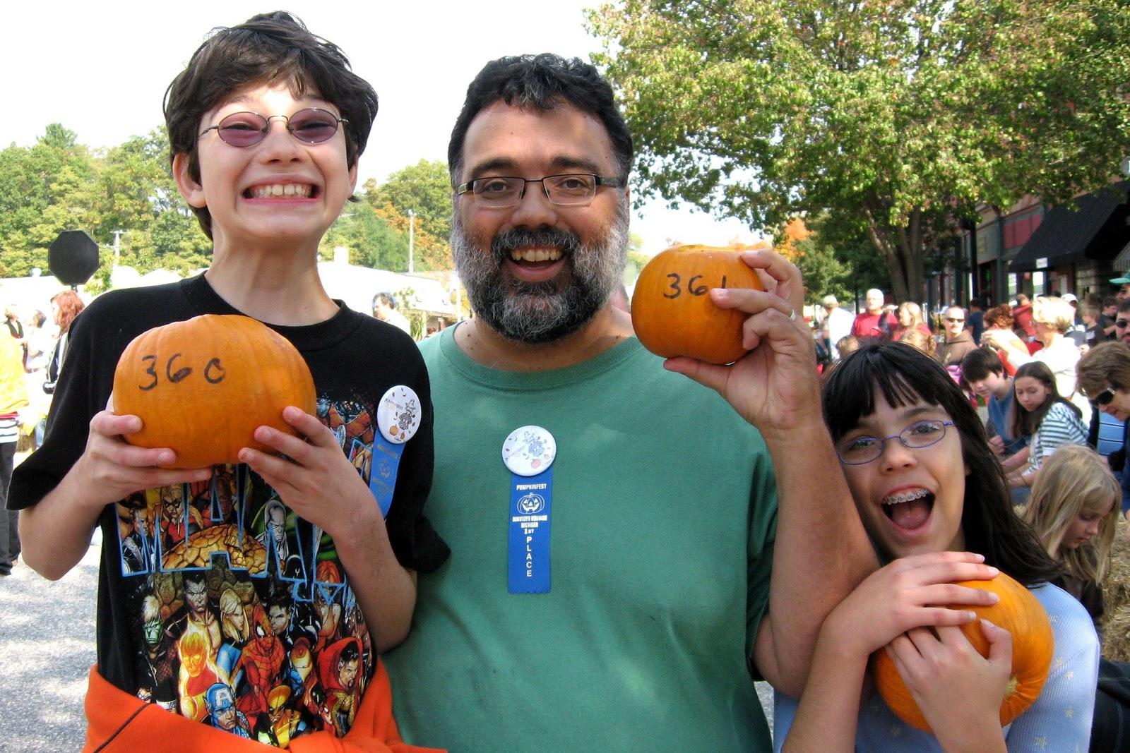 2010 Pumpkin Roll Champions