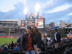 Jeff and Jen at the 2006 World Series