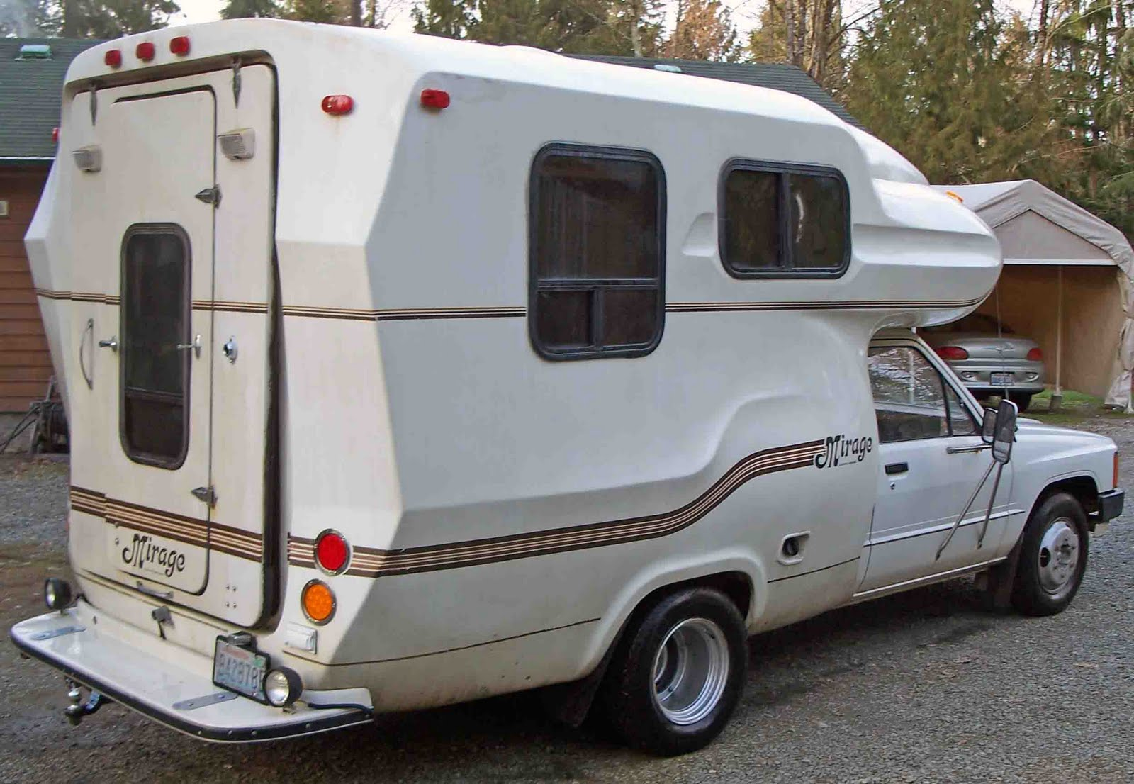 Toyota Mirage Makeover Step 1 Mini Motorhome Research