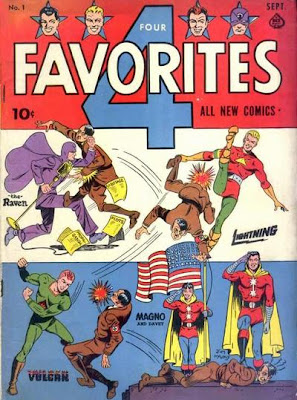 I think not only should Hitler be punched on the cover of every comic book, he should be punched no less than 4 times.