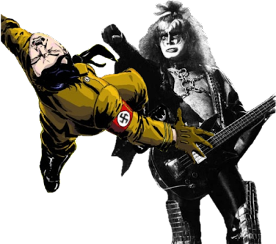True Story: Vinnie Vincent was fired from KISS because he was 'too Italian' to punch Mussolini.
