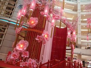 Borneotip cny decoration at klcc - Lunar new year decorations ...