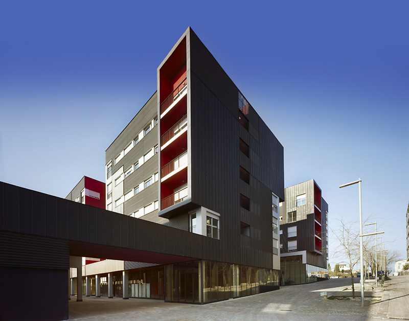 Emba enric massip habitatges a sant cugat hic arquitectura - Arquitectura sant cugat ...