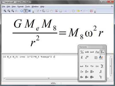 libremath O que é LibreOffice?