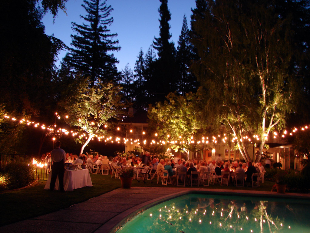 Pool Party Lighting Ideas find this pin and more on pool party lights Outdoor Event Lighting Ideas