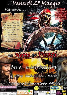 festa pirati a mantova
