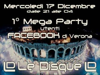 Facebook Party Verona