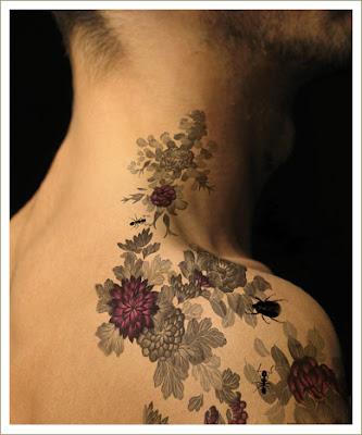 Татуировки tatoo тату цветы