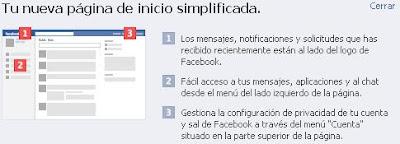 Facebook se simplifica