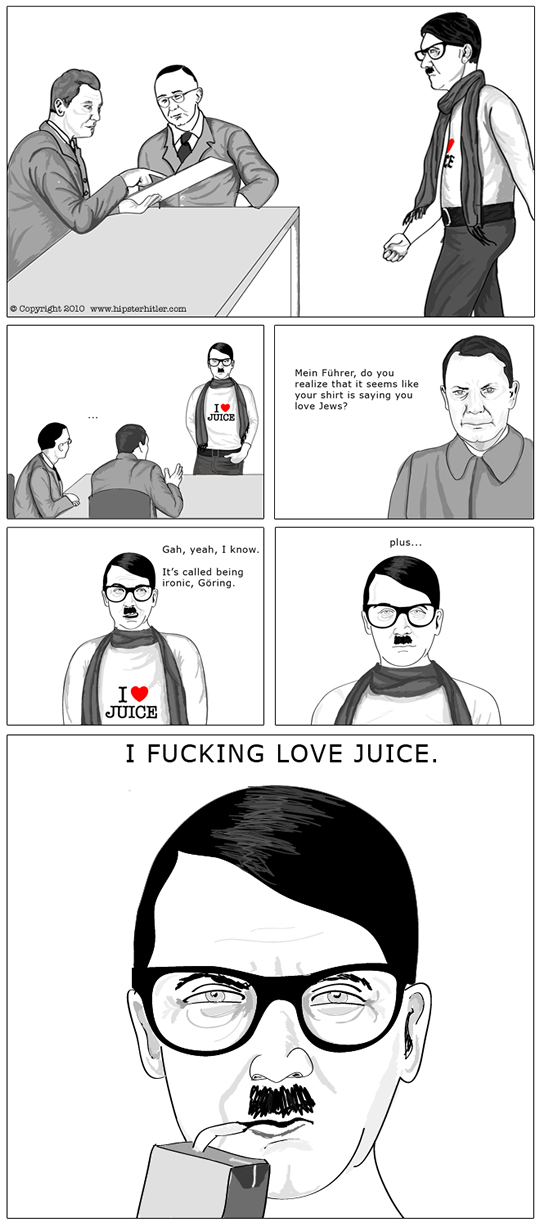 Good Hipster Jokes http://www.sergiofuentes.net/advertising ...