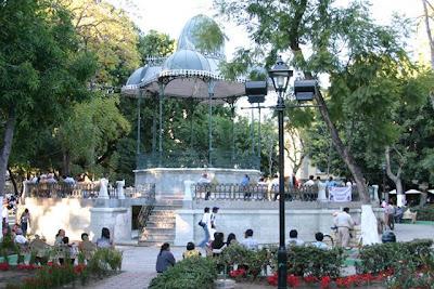 Photo of the Plaza de la Constitucion de Oaxaca (Zocalo)