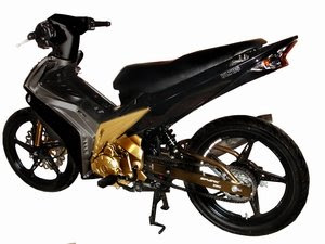 modifikasi yamaha vega r, yamaha vega modified