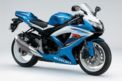 2009 Suzuki Bandit R600 - blue