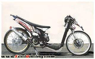 mio drag bike  motor drag mio matik drag thailand stile