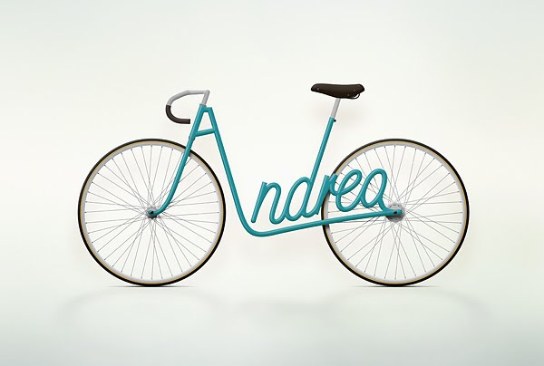 bici Andrea write a bike