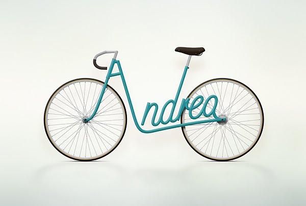 bici Andrea write a bike