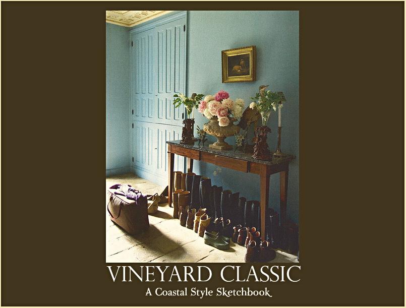 Vineyard Classic - A Coastal Style Sketchbook