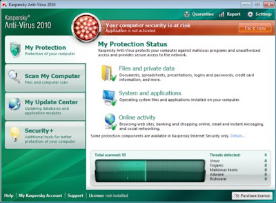 Kaspersky Anti-Virus Update December 20, 2009