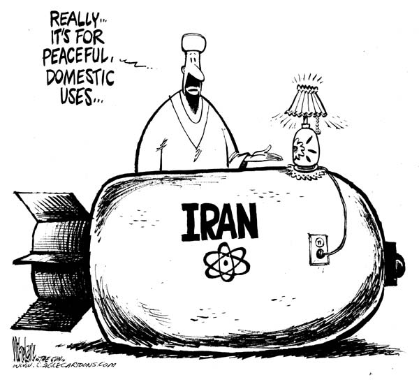 Iran Cartoon