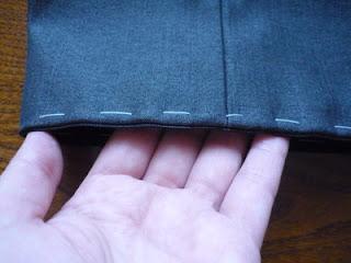 Укоротить мужские брюки в домашних условиях 920