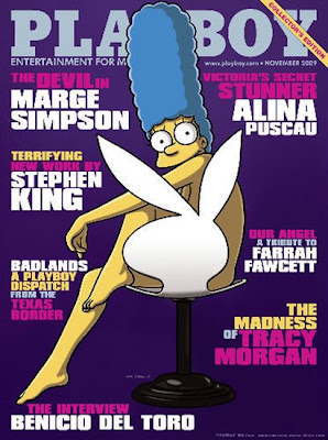 The Simpsons Marge Simpson Vai Ficar Nua Na Capa Da Revista Playboy