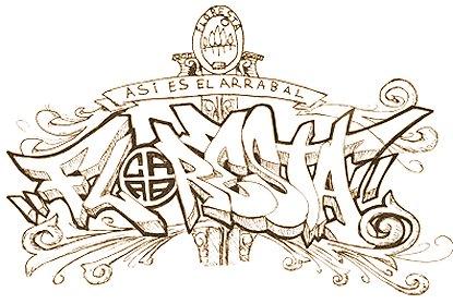 Graffiti:::::....: Algunos graffitis que me encontré en la web ...