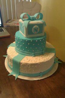 Baby Nathaniel's cake