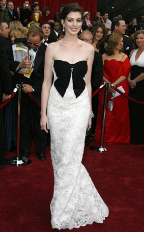 anne hathaway red carpet dresses. Which is called Red Carpet