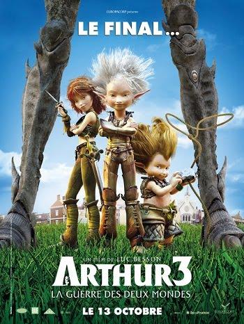 ARTHUR Assistir Filme Arthur 3: A Guerra dos Dois Mundos   Dublado   Ver Filme Online