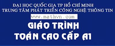 Download giao trinh Toan cao cap A1 A2