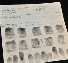John Lenon Fingerprint