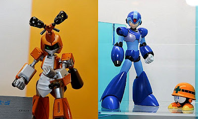 D-Arts Metabee and Megaman X