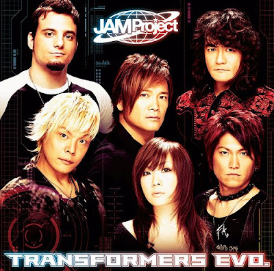 JAM PROJECT - TRANSFORMERS EVO [Single]