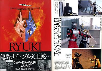 [SCANS] Kamen Rider Ryuki Hybrid File