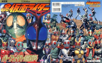 [SCANS] Kamen Rider 35th Anniversary Photobook