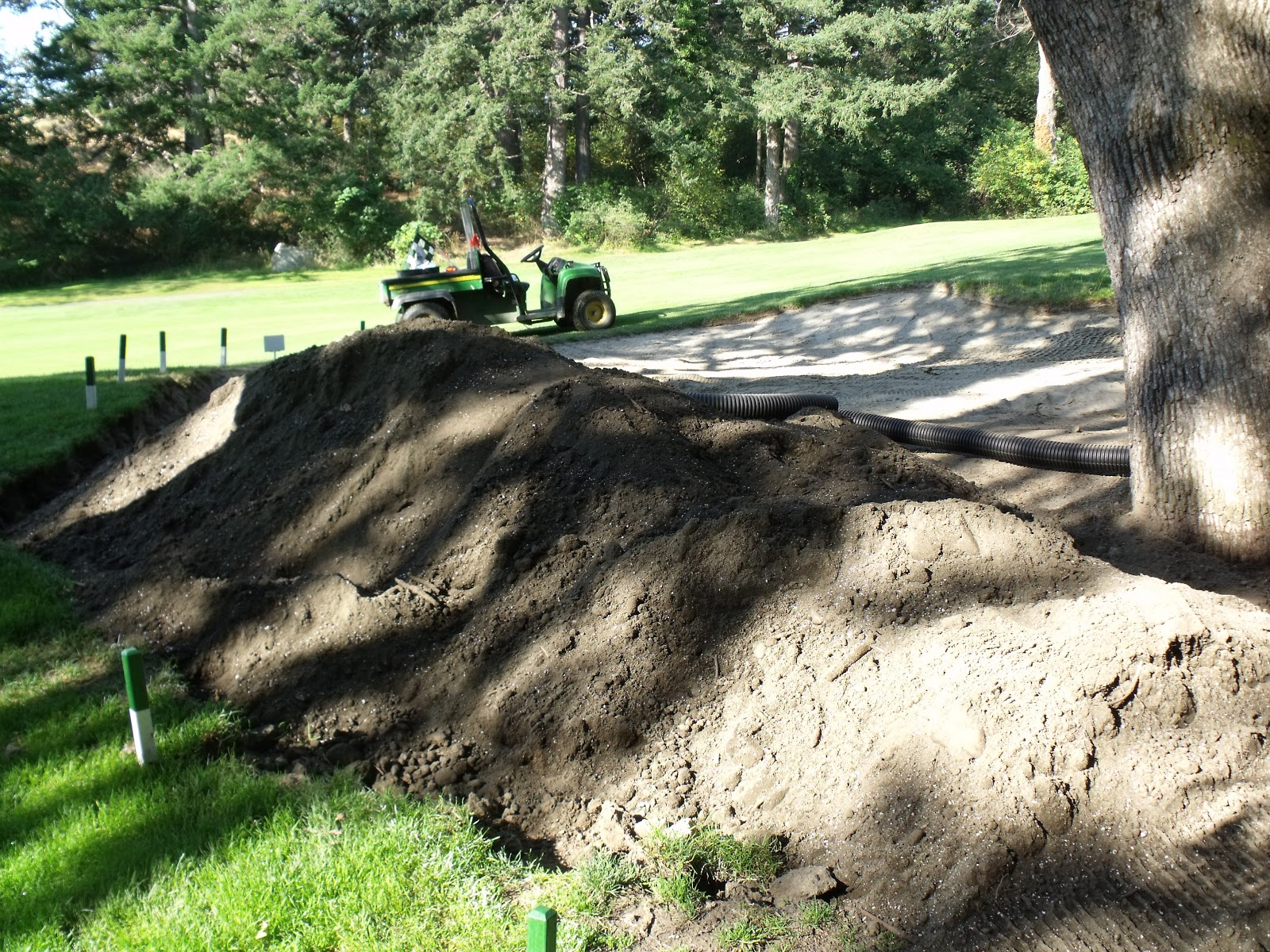 Backyard Sand Bunker : Compost Happens  Case Study, Q and A with Scott Wheeler of Gorge Vale