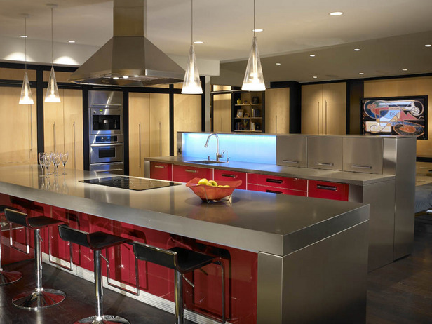 Big Modern Kitchen | Interior Decoration