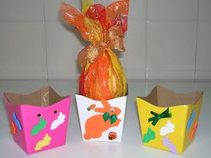 Caixinha de Ovo de Páscoa ideal para Crianças