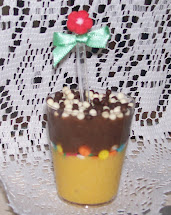 Mousse de Maracujá com Chocolate