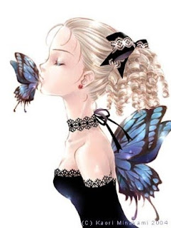 GBeauty Girl With Butterfly