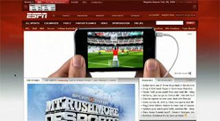 Apple Interactive Ads on ESPN