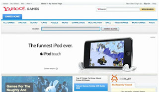 Apple Interactive Ads on Yahoo! Games