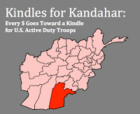 Here's a Way for Kindle Lovers to Help Give Support to Men and Women Deployed in Afghanistan