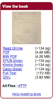 Free Today to Download to Your Kindle or Kindle for PC Within Seconds: OVER A MILLION BOOKS FROM THE INTERNET ARCHIVE