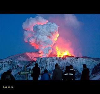 Gunung Berapi Islandia Meletus 3